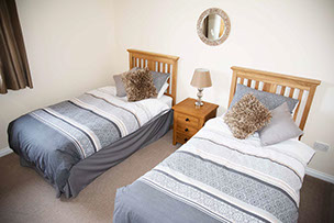 twin room accommodation in Portree