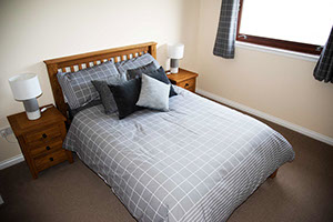 double room accommodation on Skye