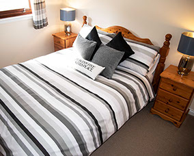 spacious double room accommodation